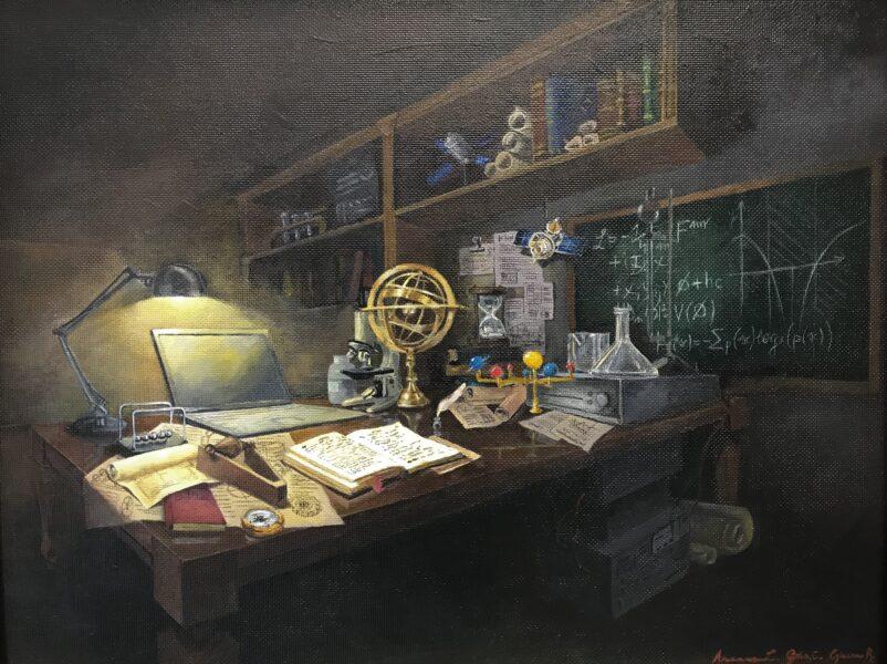 terzo posto - La scienza in natura morta, tra ieri e domani - di Arianna Lazzari, Giacomo Ragazzo e Gaia Casotto del liceo Modigliani di Padova