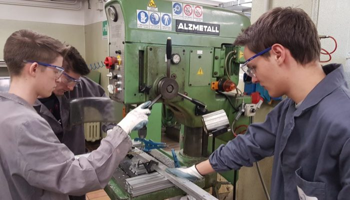 INFN Sezione di Padova - Alternanza Scuola Lavoro in Officina Meccanica