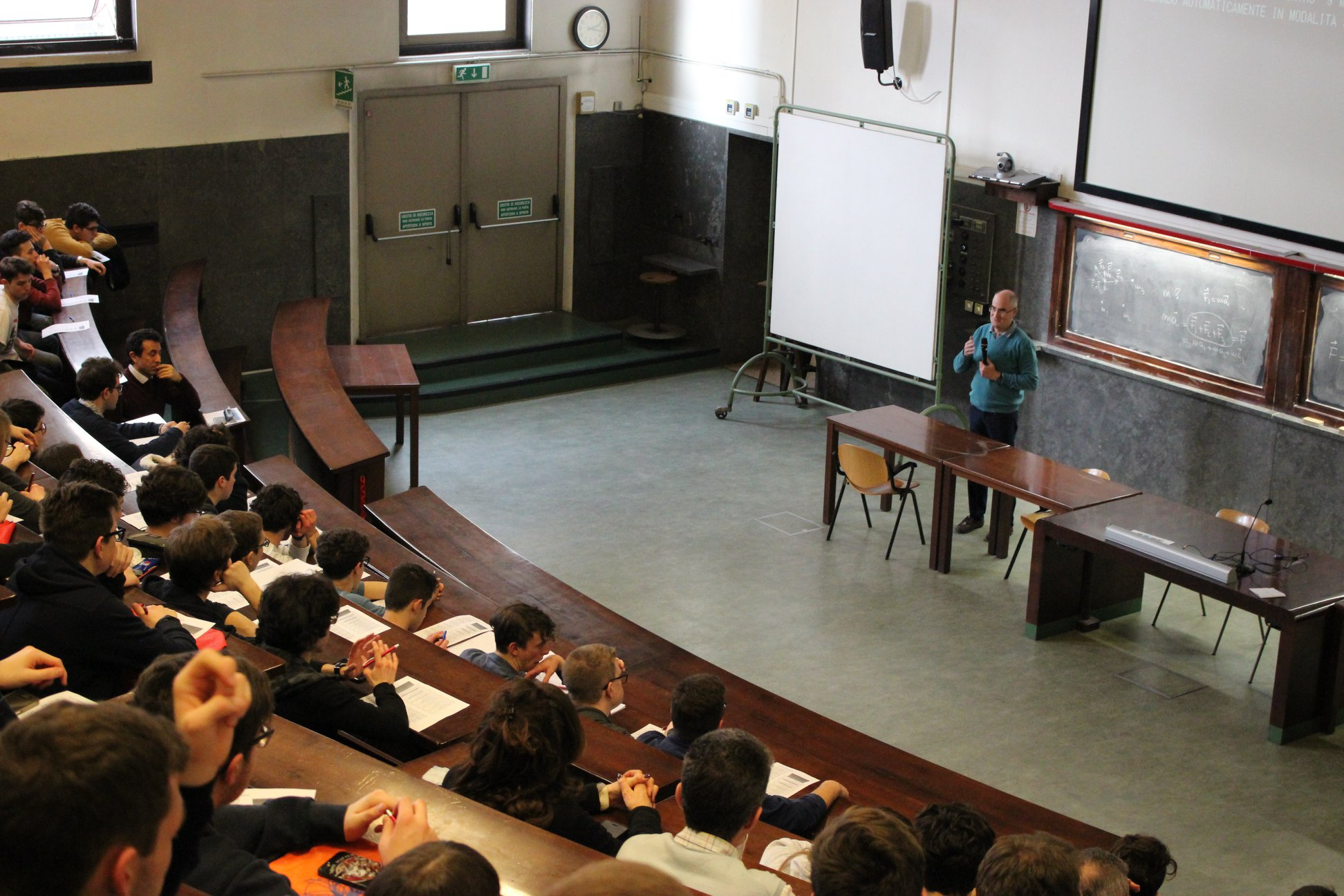 A. Rostagni classroom, Dipartment of Physics and Astronomy of Padova University