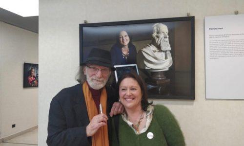Patrizia Azzi e il fotografo Gerard Bruneau