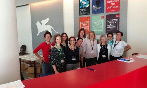 il team d'accoglienza di QuarkMatter 2018