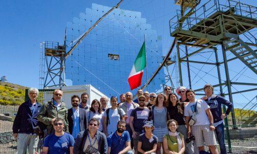 I ricercatori italiani della collaborazione MAGIC